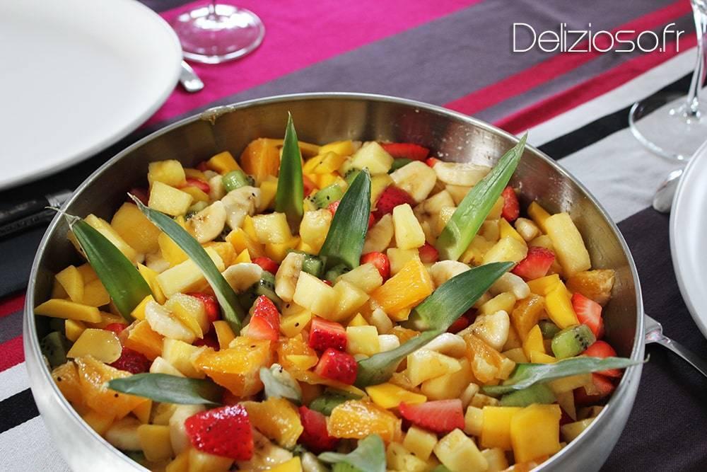 Salade de fruits maison… au sirop !