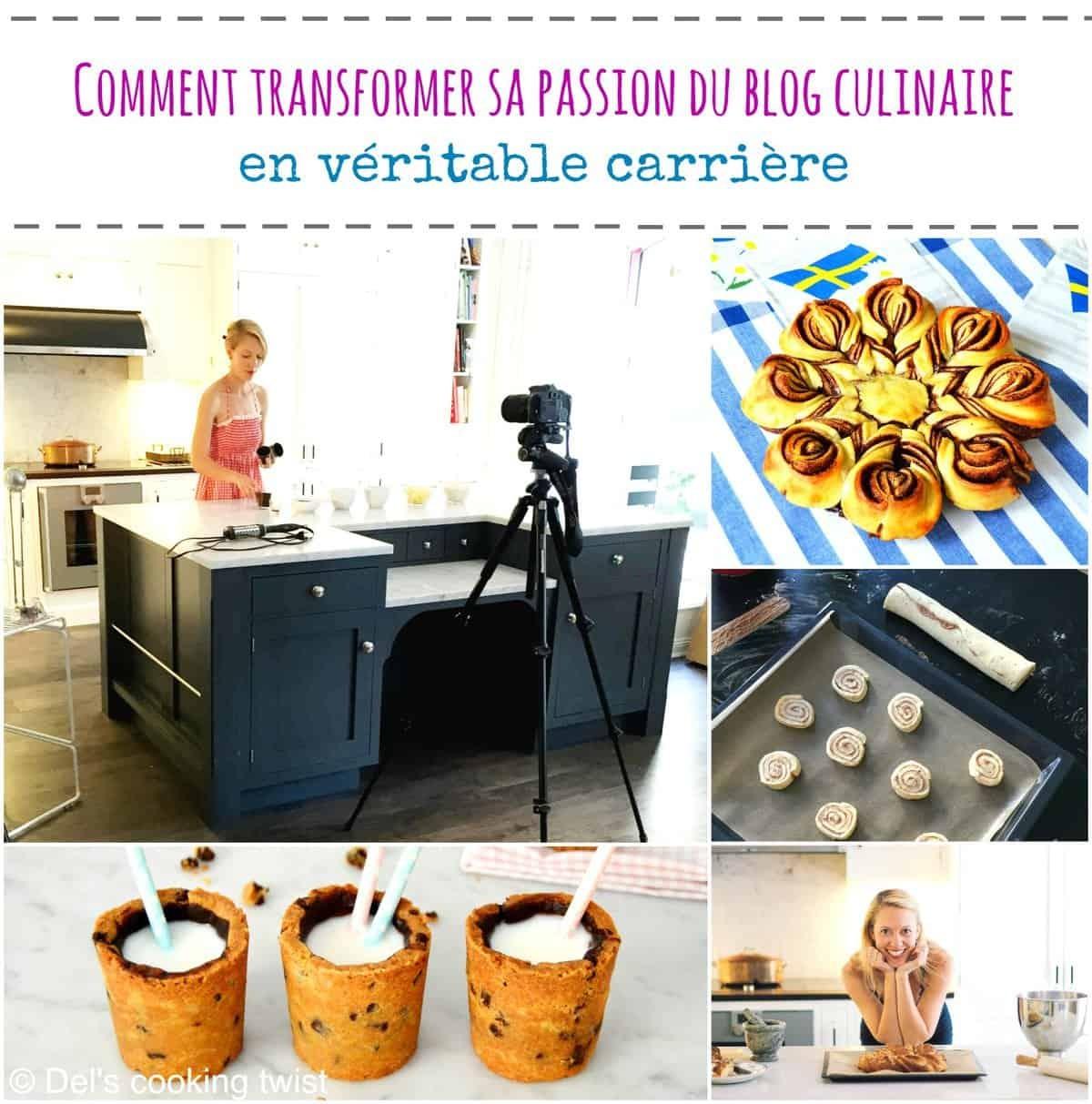 Comment transformer sa passion du blog culinaire en véritable carrière (Partie I)
