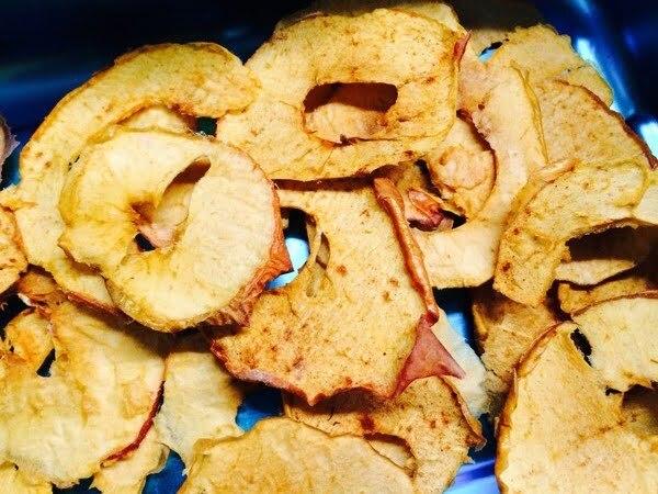 November-Zvieri: Zimt-Apfel-Chips