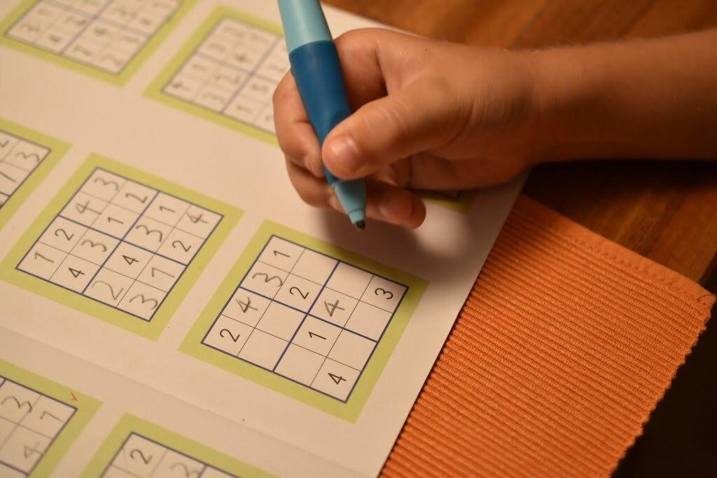 Sudoku: Zahlenspiele auf japanisch