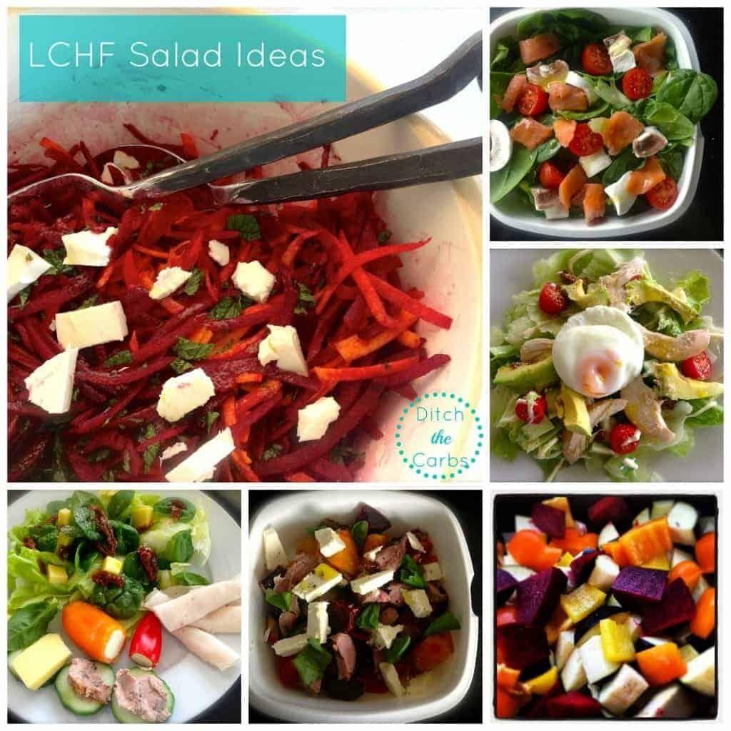 LCHF Salad Ideas