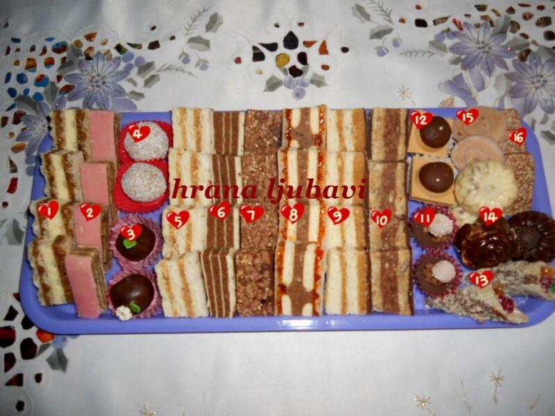 Posni sitni kolač