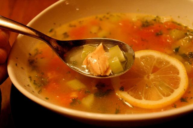 Bistra riblja supa