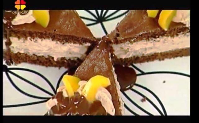 Video recept: Dvobojna torta s breskvama
