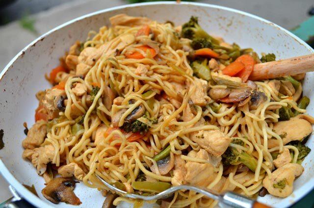 Azijski stir-fry