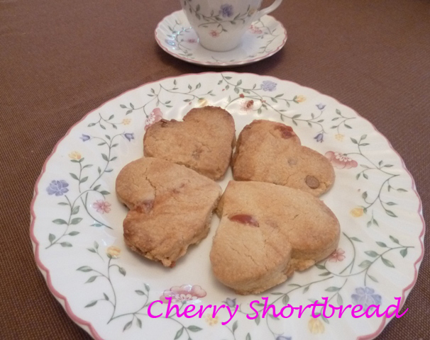 Cherry Shortbread Recipe