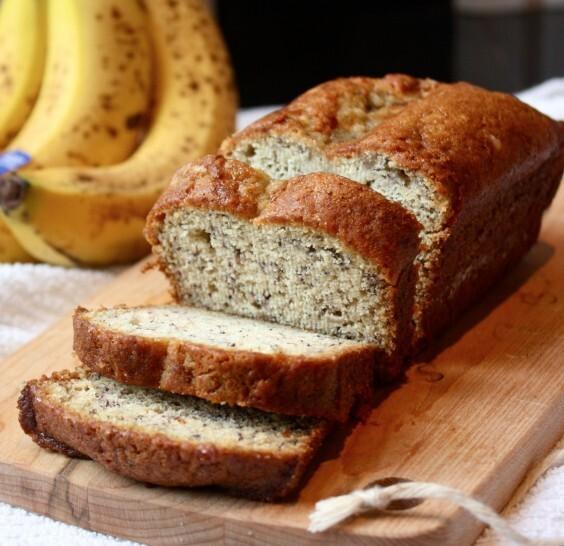 Banánový Power chlieb