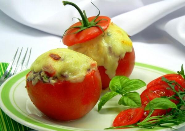 Letný špeciál: paradajky plnené tuniakom