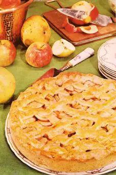 Torta Casera de Manzanas