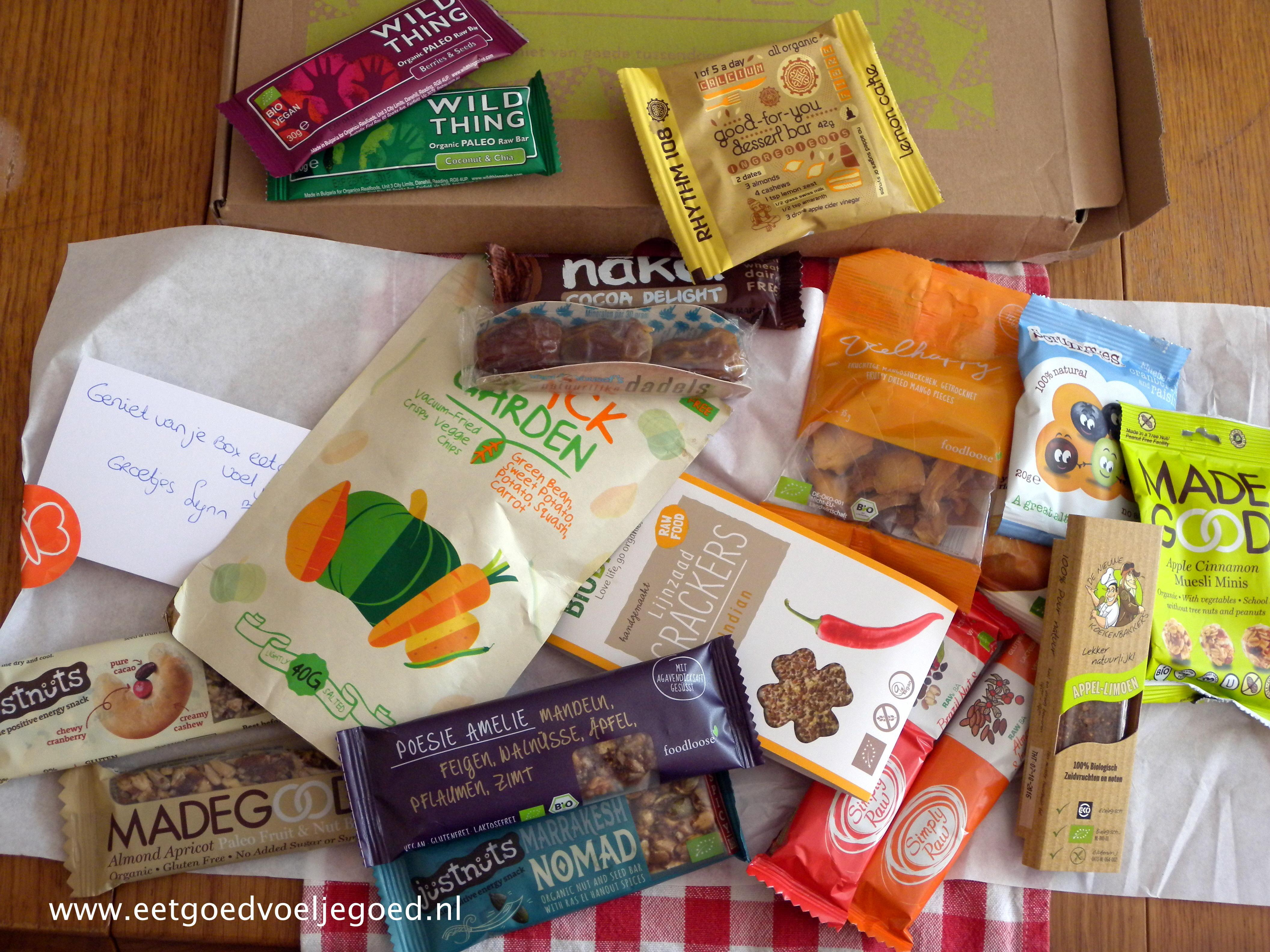Give-Away: Snackrepen van Boxbites