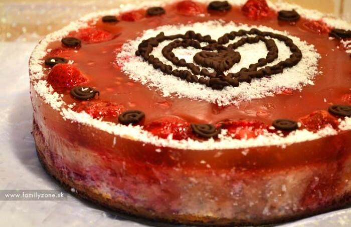 Lahodná FIT tvarohová torta – recept
