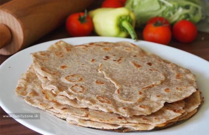 Domáce tortilly – recept