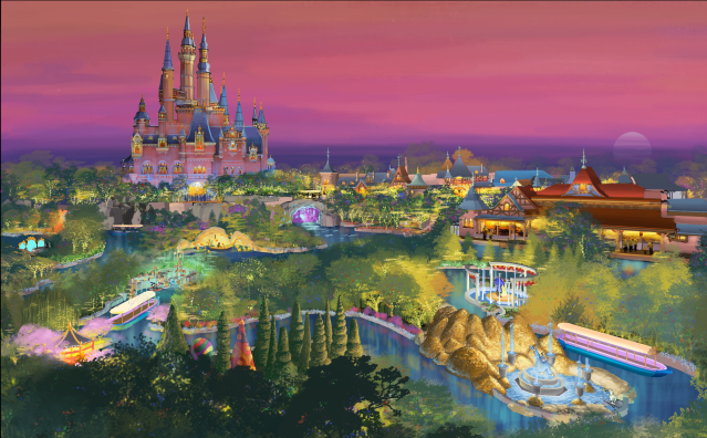 Shanghai Disneyland – China