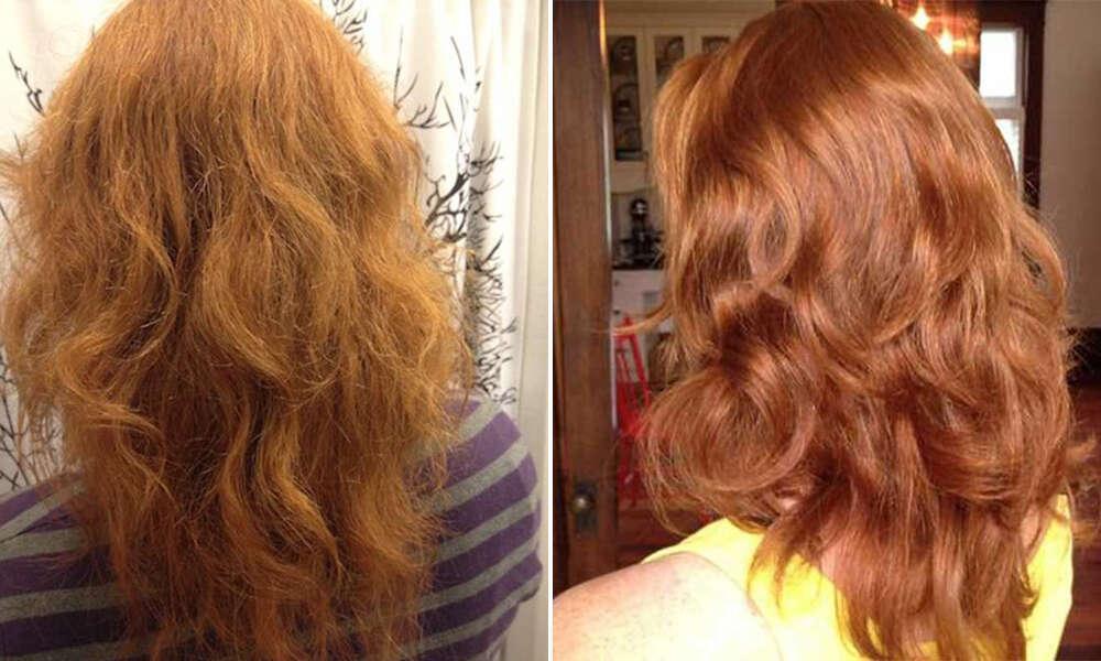 Mulher troca shampoo por mistura … e o resultado é surpreendente!!!