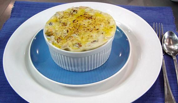Lasagna de Mariscos