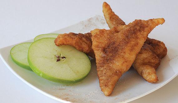 Empanadas Fritas de Manzana