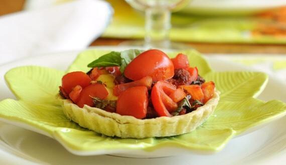 Tarta de Tomates Frescos