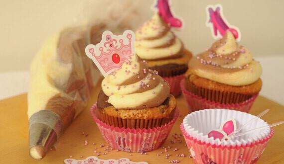 Cupcake Marmoleado