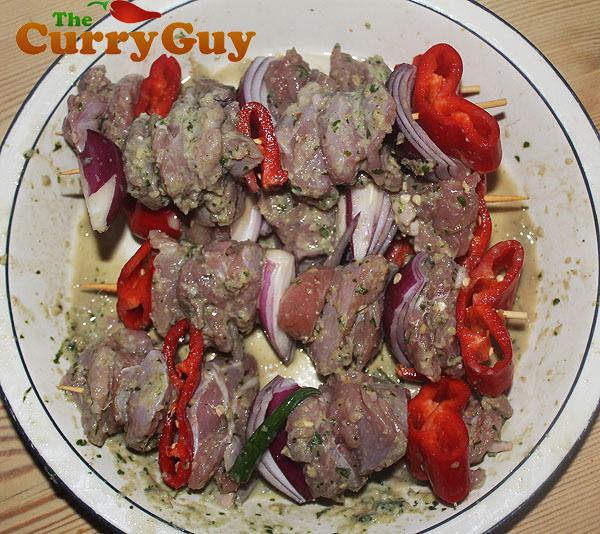 How To Make Bunny Tikka Kebabs