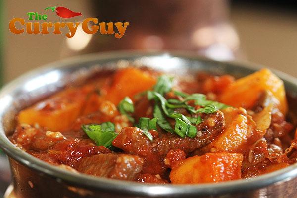 Lamb & Sweet Potato Curry