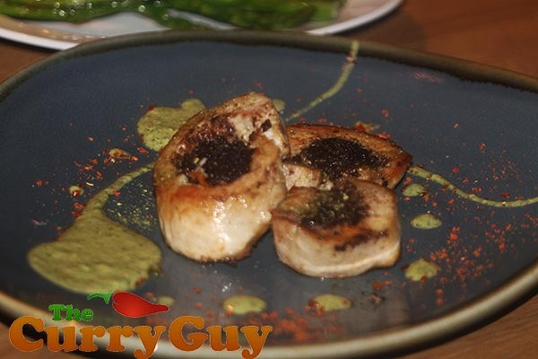 Spicy Black Pudding Stuffed Chicken Breasts