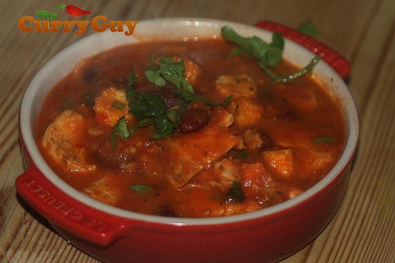 Quick Low Fat Chicken Chilli