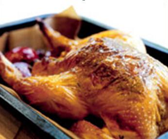 Κοτόπουλο με παστουρμα