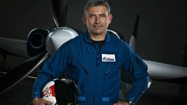 The BA pilot who's an aerial champion