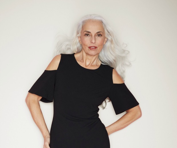 A fashion photoshoot first! The model is over 50 – so are the photographer, stylist and make-up artist