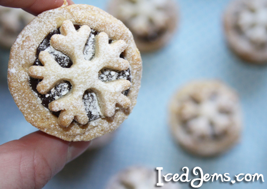 Mini Snowflake Pies