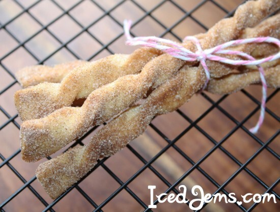 Cinnamon Sugar Cookie Twists