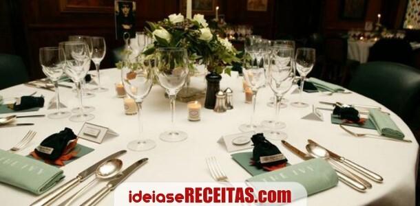 10 normas fundamentais de etiqueta à mesa