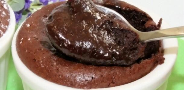mousse de chocolate que não vai ao forno