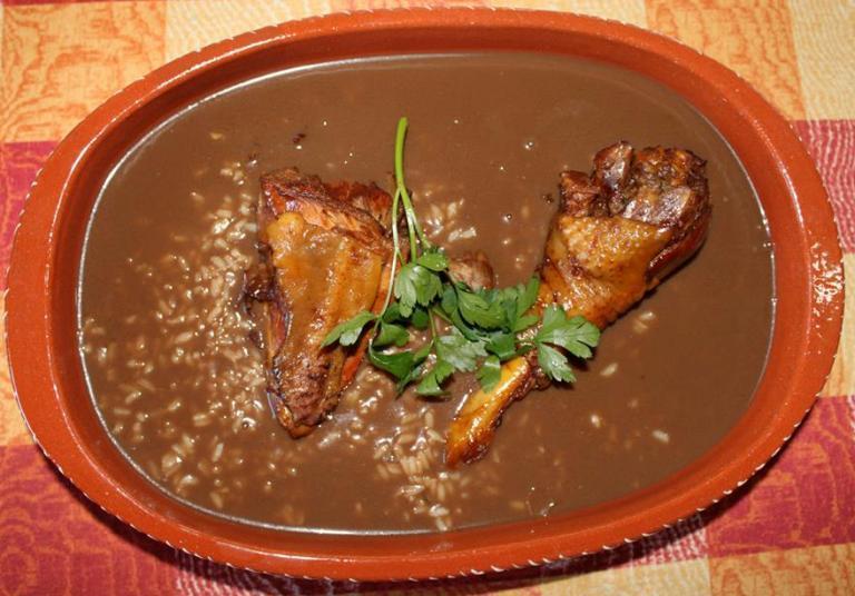 receita de arroz com miúdos de frango