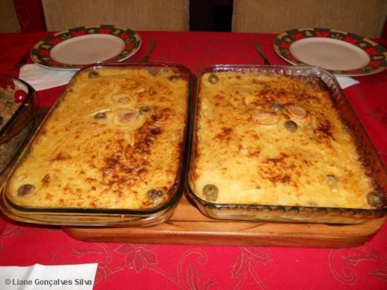 Bacalhau de forno delicioso