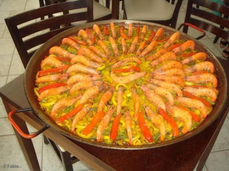 Paella à valenciana