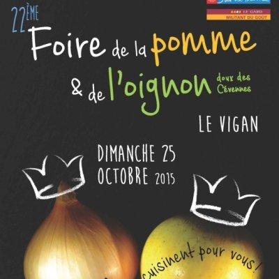 22ème foire de la pomme et de l'oignon doux des Cévennes – Le Vigan