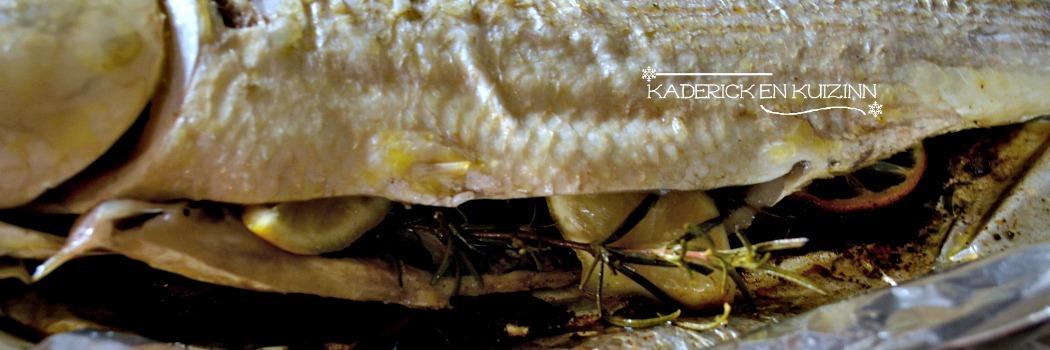 Papillote de mulet ou muge cuit à la plancha