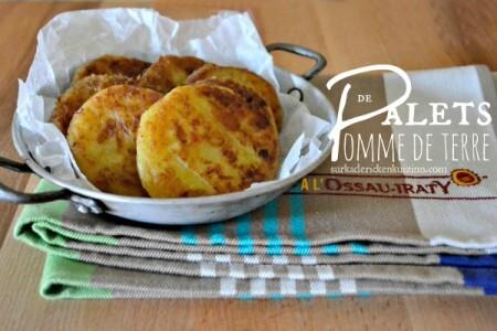 Recette galettes – Palets de pomme de terre à l'Ossau Iraty
