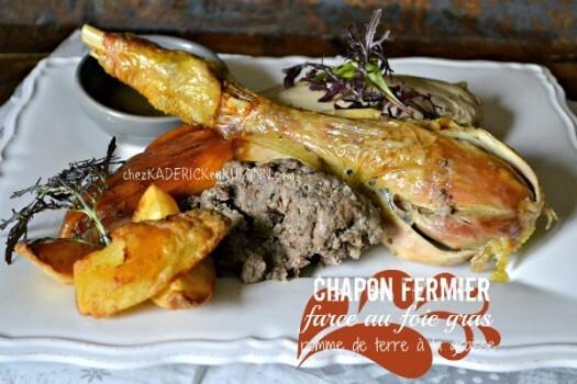 Chapon farci – Recette chapon de noël farci foie gras|Kaderick