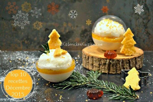 Décembre 2015 Le top 10 des recettes