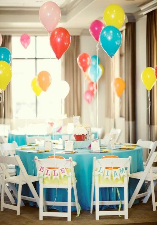 8 ideas para una decoración práctica y divertida con globos