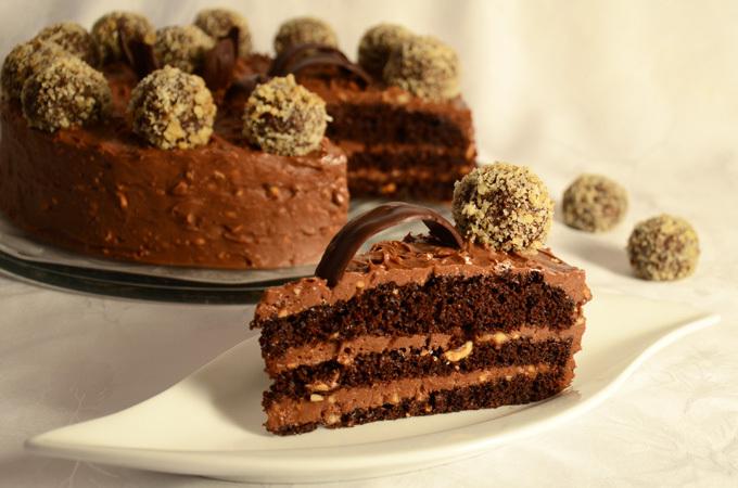 Ferrero rocher torta izuzetnog okusa