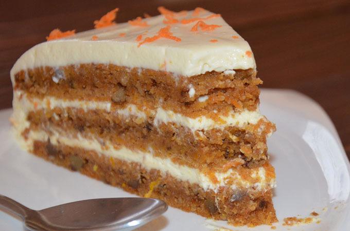 Torta od mrkve sa krem sirom
