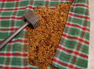 Monte torta sa komadićima lješnjaka