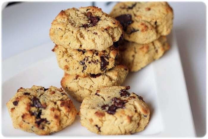 Big chocolate chunk cookies