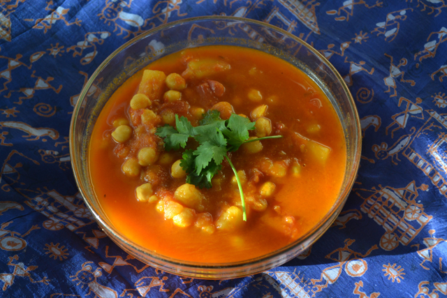 Channa/Chole/Chickpea Curry Recipe