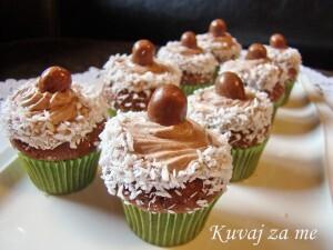 Čoko-koko cupcakes