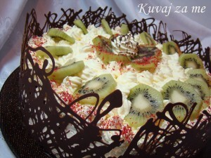 Svečana kivi torta