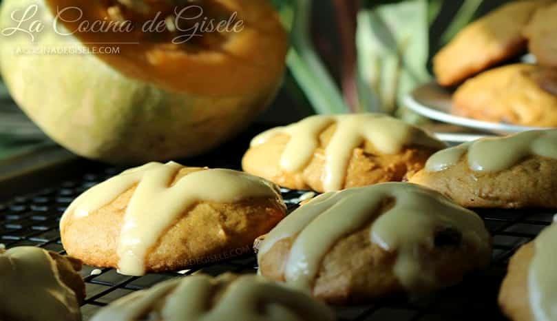 Receta Galletas de Calabaza, auyama o zapallo